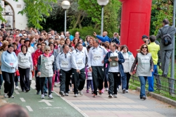Carrera solidaria Run For Parkinson 23 de abril de 2014