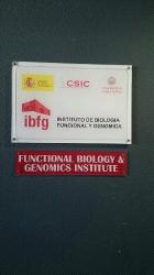 Visita al instituto de Biología Funcional y Genética